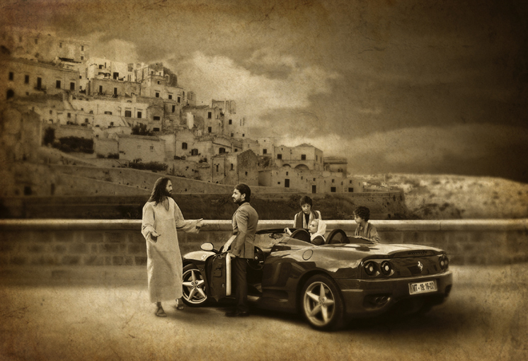 christ-and-rich-young-man-with-hot-car