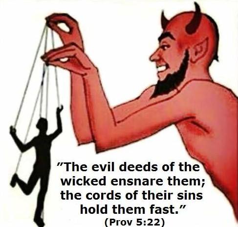 cords of sin--devil