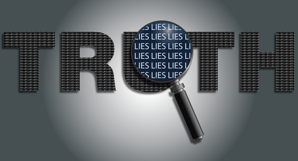 truth with lies
