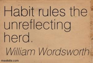 Habit-wordsworth