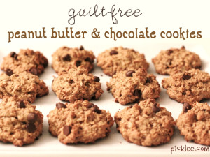 guilt-free-peanut-butter-chocolate-cookies